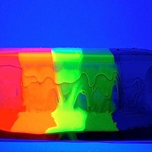 art, science fair, STEM, rainbow, slime, slime art, super slime, polymer, kit, glow in the dark