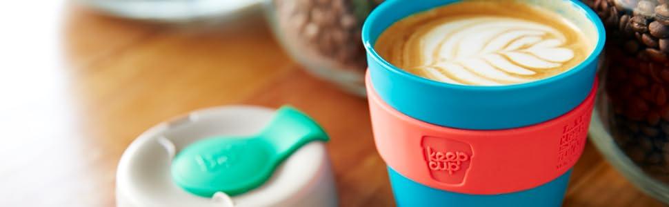 Plastic keep cup