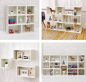 way basics, bookcase, eco, bookshelf, storage cube, wall shelf