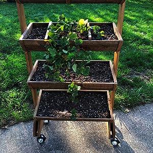 outdoor wheels, indoor wheels, garden cart, mobile garden