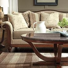Traditional Style, Brewy View Sofa