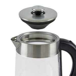 glass, water, kettle, locking lid, nesco,