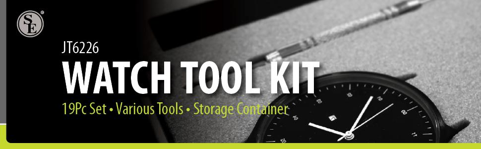 Watch tool kit