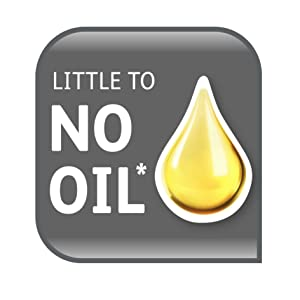 Little to no oil