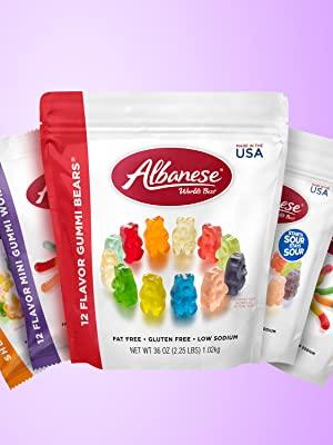 gummi bears, gummy bears, natural gummies, sour gummies, gummi worms, gummy worms, 12 flavor gummies