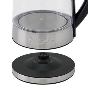 heating base, glass, water, kettle, nesco, boil