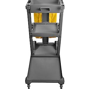 janitorial cart shelves