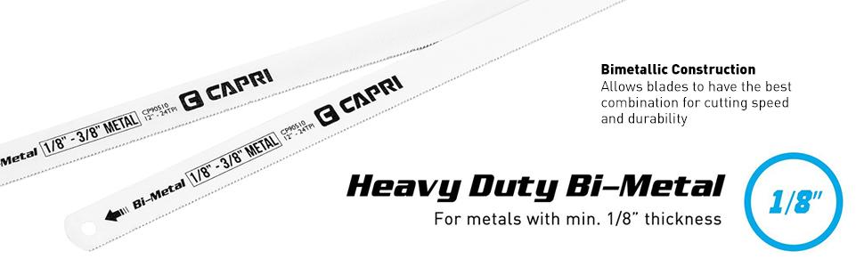 capri tools bi-metal blade
