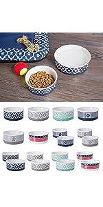 pet bowl for food and water,ceramic pet bowl,non skid pet bowl,dog bowls,cat bowls,pet food bowls