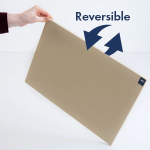 reversible rubber cutting board