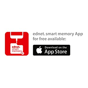 Download the free ednet smart memory app on the apple app store to manage your data on iphone ipad