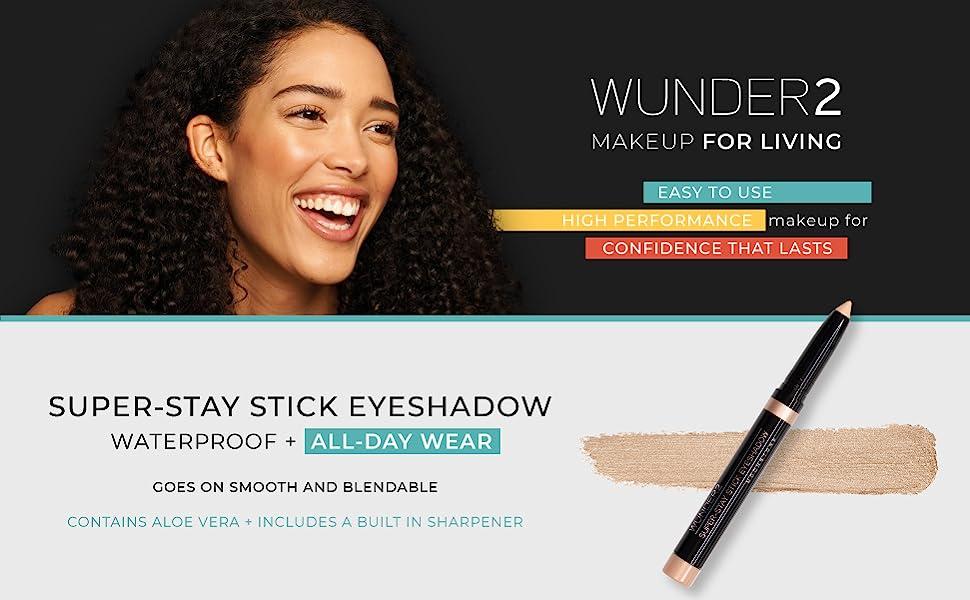 Wunder2  wunderbrow wunderlift stick waterproof eyeliner face eyelighter makeup super stay liners