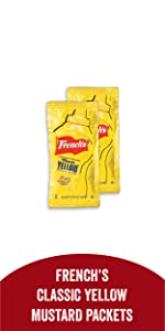 French's Classic Yellow Mustard Packets