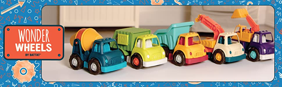 Toy trucks for kids, construction toy, fisher price, Little people cars, Green Toys, toddler vehicle