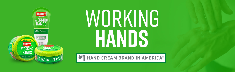 O'Keeffe's Working Hands Hand Cream Value Size, 6.8 oz., Jar