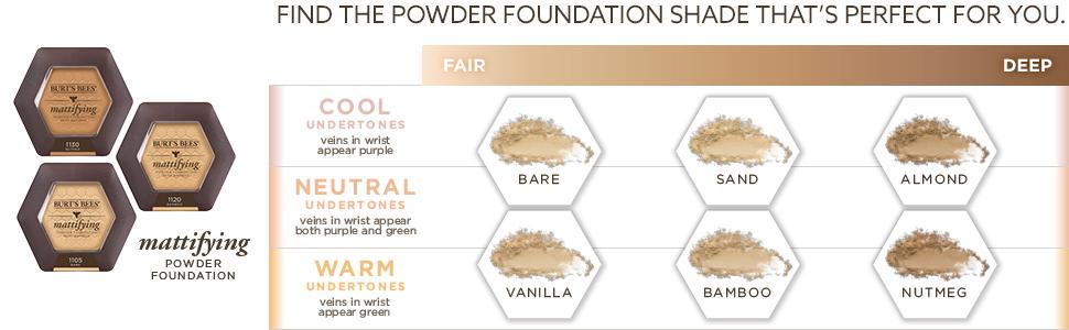 mattifying powder