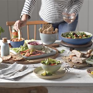denby pottery dinnerware entertaining
