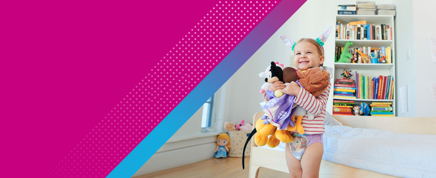 Toddlers ready for potty training can follow simple directions.