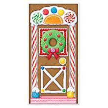 Gingerbread Door Cover