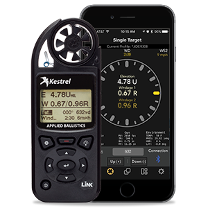 Kestrel 5700 Elite environmental meter with LiNK with Applied Ballistics for long range shooting