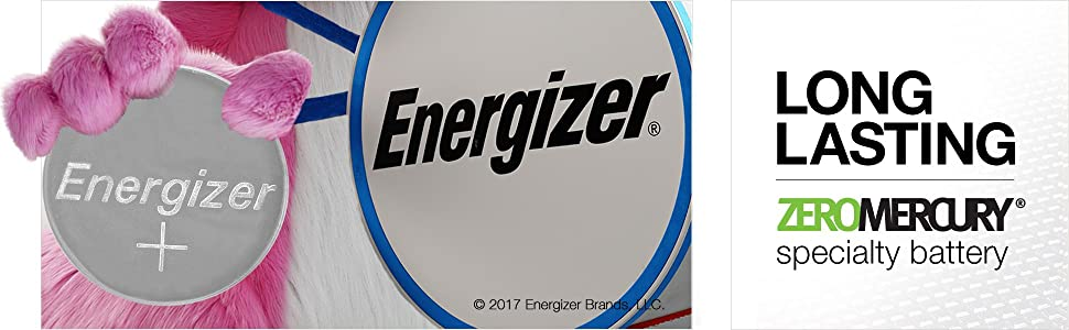 Long lasting zero mercury specialty battery, Recyclable, High, Capacity, Reliable Performance