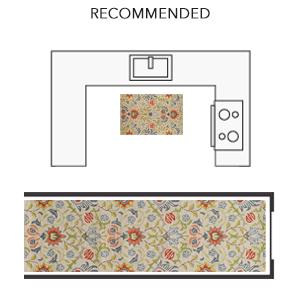 momeni newport rug yellow floral carpet india british victoria floor covering william morris design