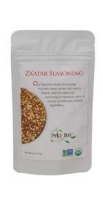 zaatar seasoning the spice hut spice blend salt free pouch