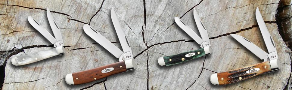 case mini trapper, case tiny trapper, trapper knife, small trapper, pocket knife, folding knife,