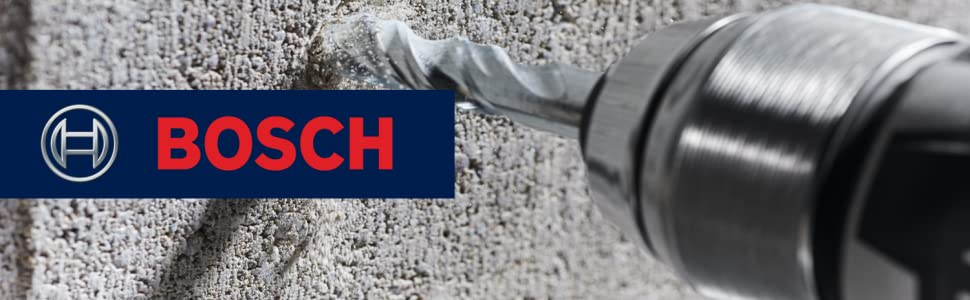 Bosch Fast Spiral Masonry Drill Bits