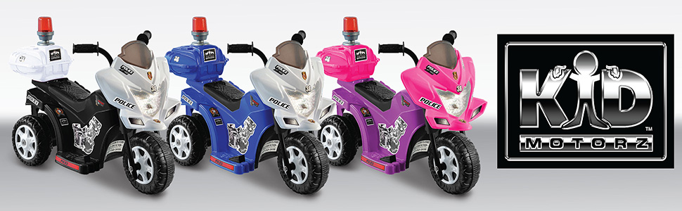 Kid Motorz 6V Lil Patrol Models