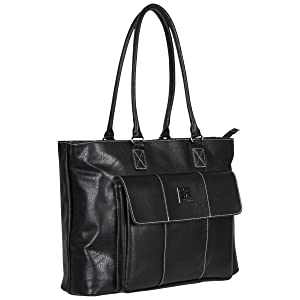 women everyday laptop tote kenneth cole reaction fashion faux leather underseater carry on bag purse