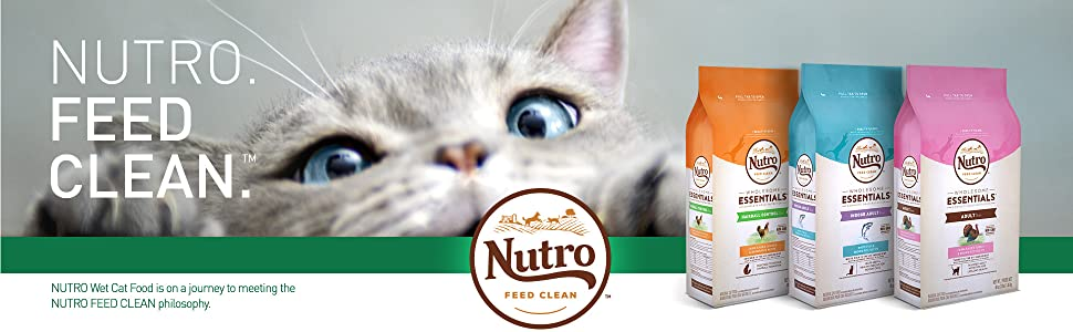 Nutro Dry Cat Food, Holistic, Organic, Wheat Free, All Natural, Wholesome, Essential, Healthy, Diet