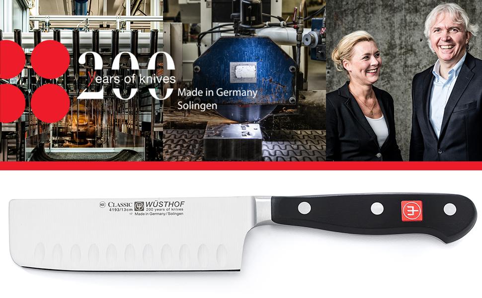 200 years of knives classic series hallow edge nakiri knife
