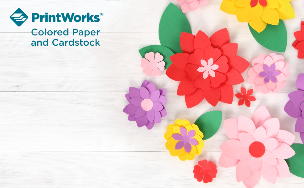 PrintWorks Assorted Seasonal /& Holiday Cardstock for School /& Craft Projects