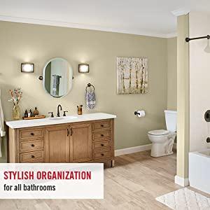 Bath accessories organization