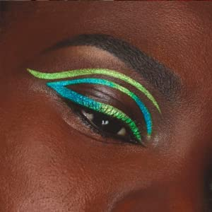 Close up of Model's eye with finished look using Defining Moment All Day Eyeliner