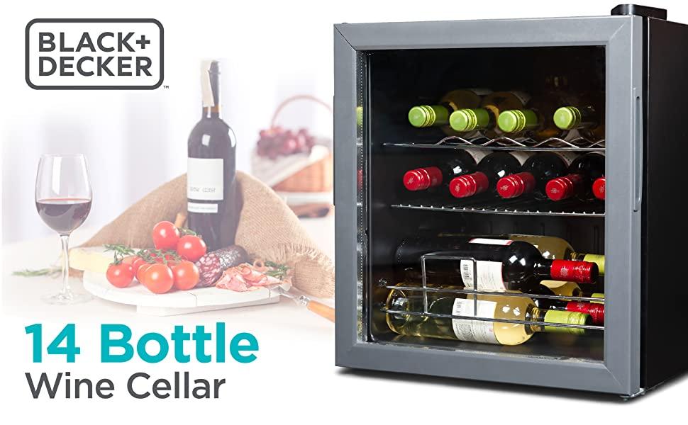 wine cellar, wine cooler, 14 bottle
