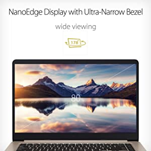 "ASUS VivoBook S510 ( S510UA-DB71 ) 15.5"" Full HD Thin and Portable Laptop"
