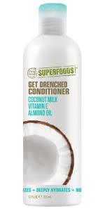 moisturizing, coconut milk, dry hair, superfoods