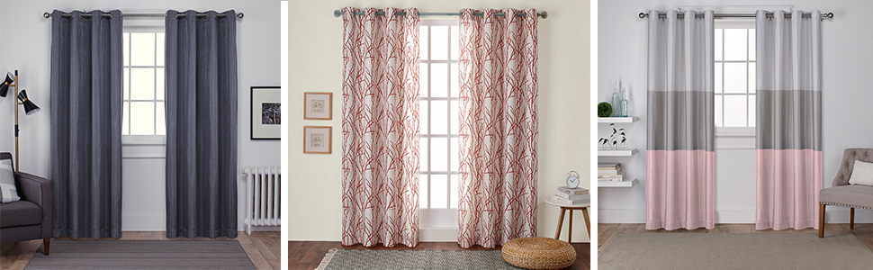 curtains;curtain panels;84 curtain panel;84 curtain panels;96 curtain panels;exclusive home