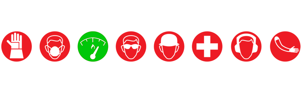 Magid, Glove, Safety, Work, Green, Red, FR, Icon
