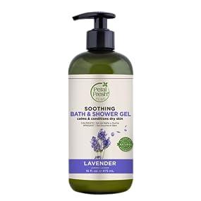 Petal Fresh, Bath & Shower Gel, Natural Beauty, Natural Ingredients, Cleansing Gel