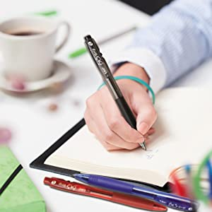 BIC BU3 Grip Retractable Ball Pen - Designed for Comfortable Writing