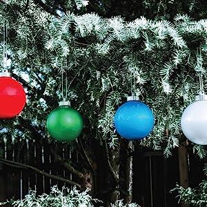 Christmas, globe, outdoor, decoration, ornament, pulsing, light