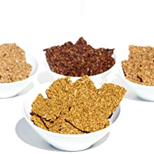 Foods Alive Organic, Gluten Free Crackers are made with simple ingredients