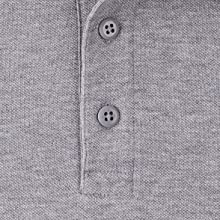 Traditional three button placket