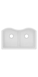 ELGULB3322WH0  elkay quartz classic kitchen sink