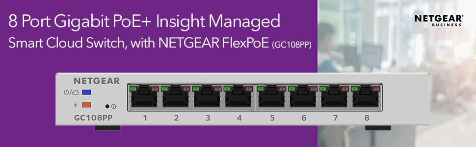 NETGEAR Insight GC108PP