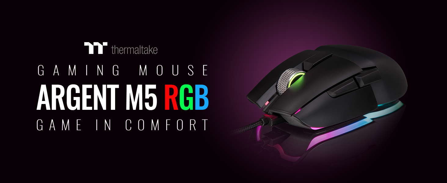 ARGENT M5 RGB Gaming Mouse