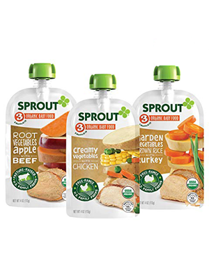 organic baby food pouches stage 3 meat
